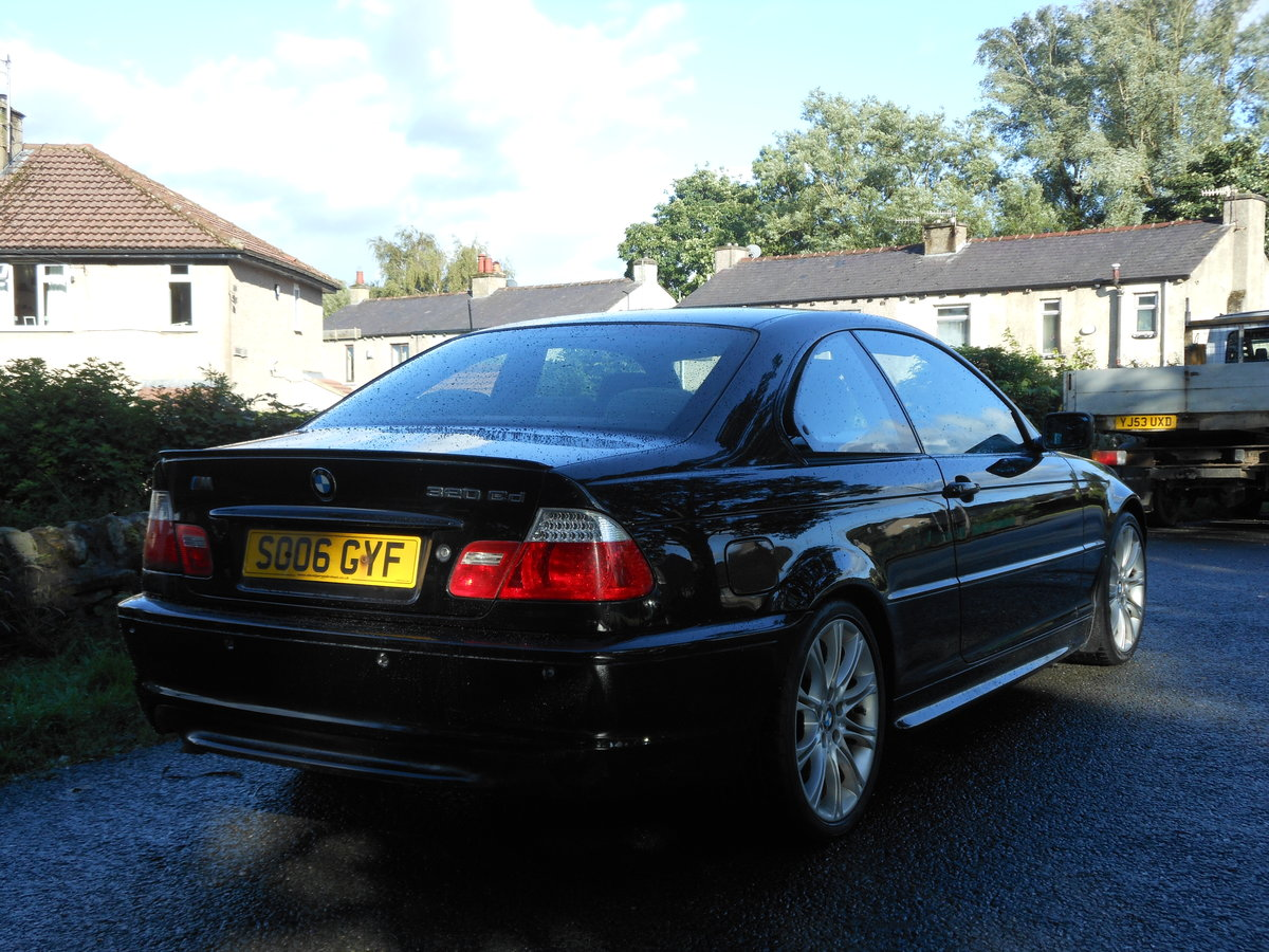 2006 BMW 320CD M SPORT COUPE Face Lift 6 SPD For Sale (picture 2 of 6)