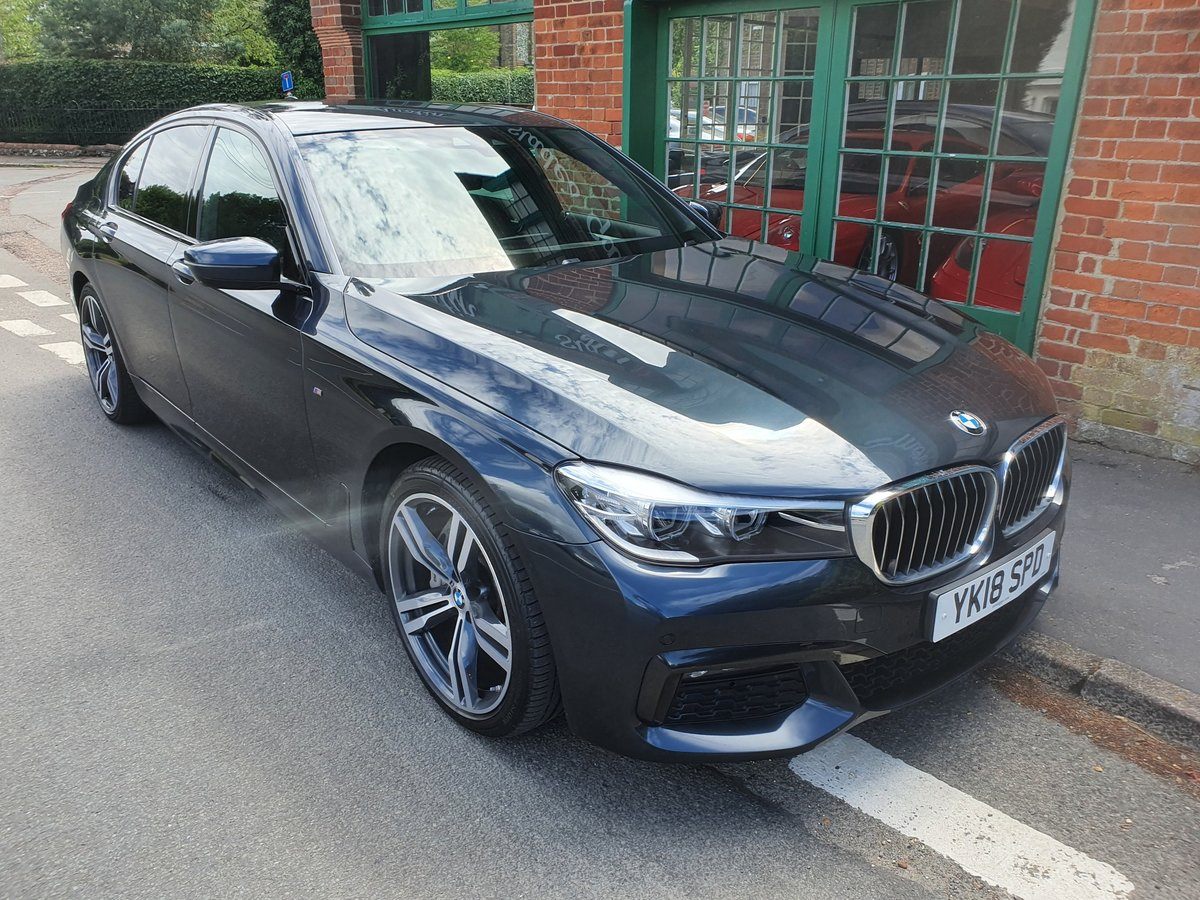 2018 BMW 730d M Sport Saloon  SOLD (picture 2 of 5)