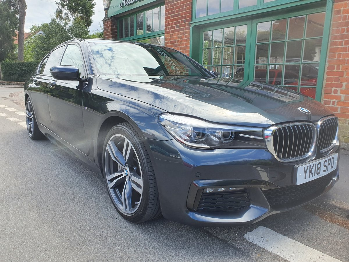 2018 BMW 730d M Sport Saloon  SOLD (picture 3 of 5)