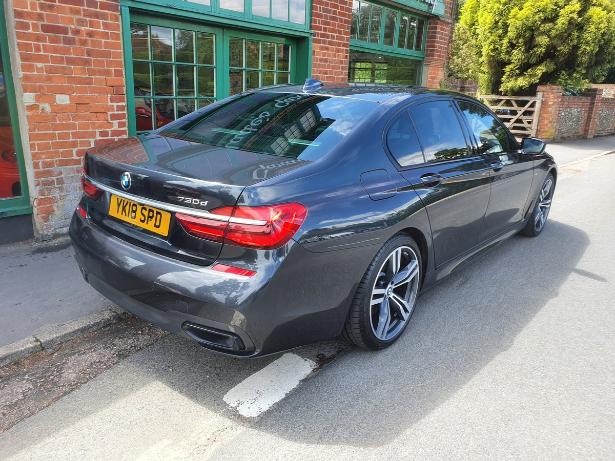 2018 BMW 730d M Sport Saloon  SOLD (picture 4 of 5)