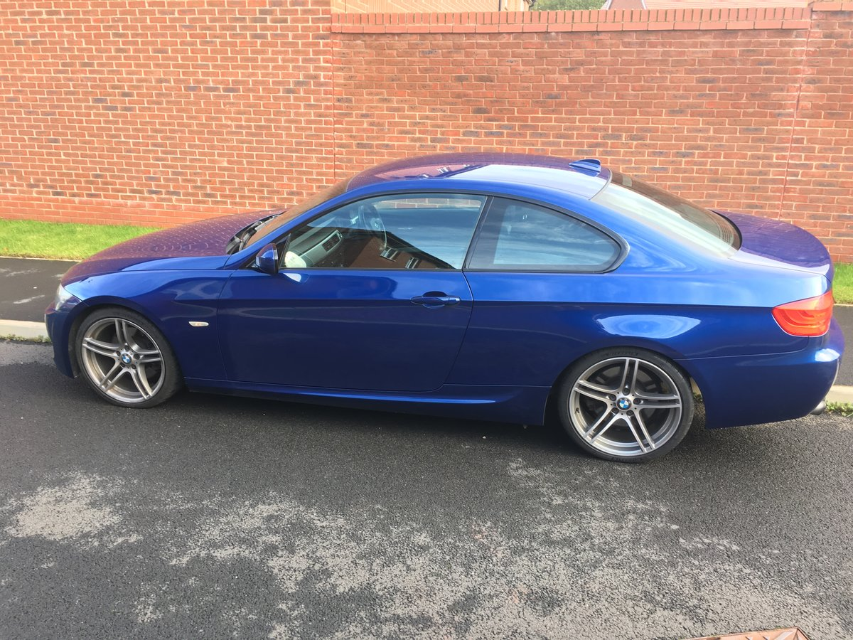 2011 BMW 330d m-sport coupe CAR IS SOLD For Sale (picture 1 of 6)