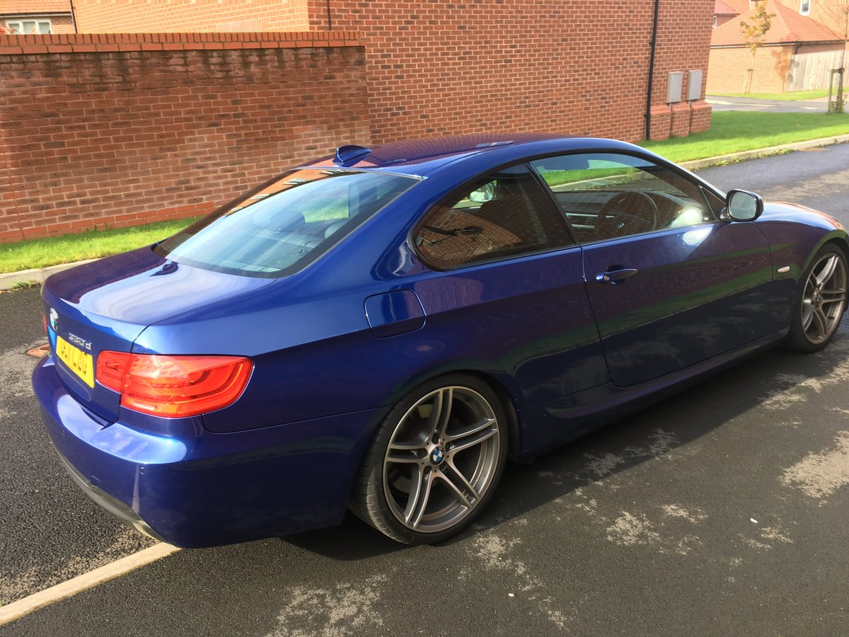 2011 BMW 330d m-sport coupe CAR IS SOLD For Sale (picture 3 of 6)