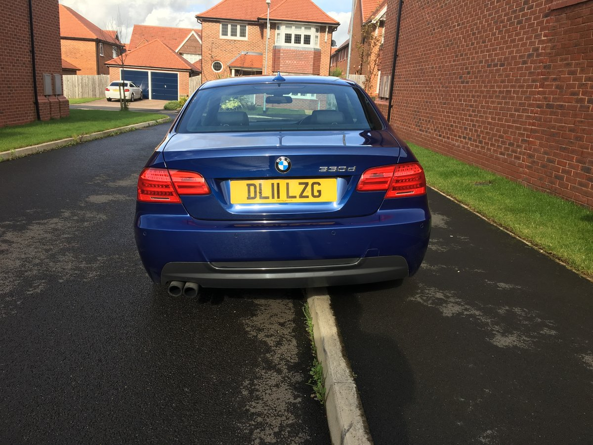 2011 BMW 330d m-sport coupe CAR IS SOLD For Sale (picture 6 of 6)
