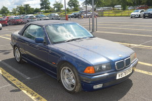 1999 BMW 323i Manual Convertible for auction 16th -17th July SOLD by Auction