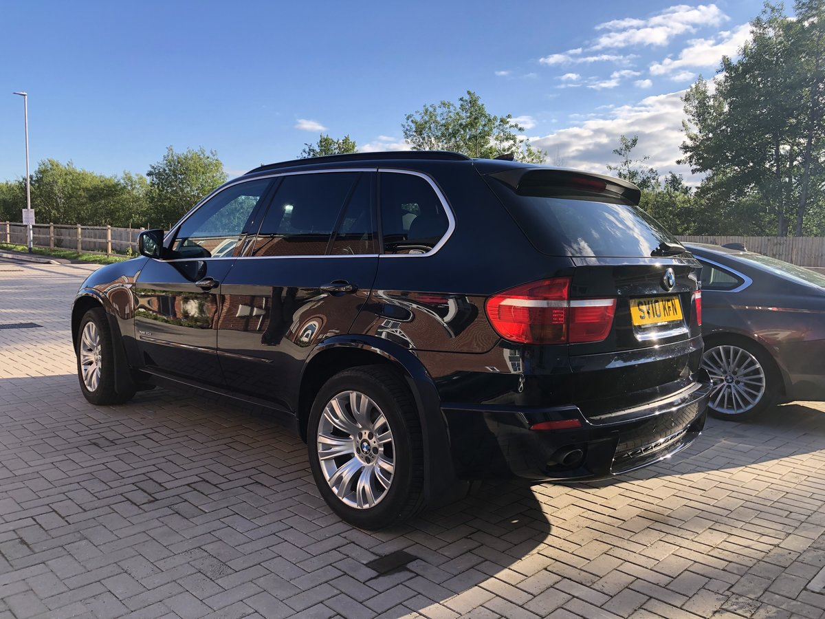2010 BMW X5 30D X-Drive Black For Sale (picture 3 of 6)