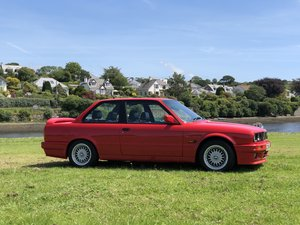 1990 BMW 325i SPORT E30 M TEC 2 BRILLIANT RED