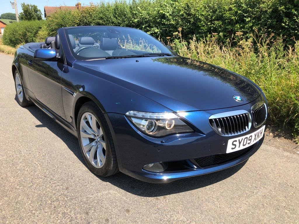 2009 BMW 650I MANUAL FULL SERV HISTORY 2 FORMER KEEPERS VGC For Sale (picture 1 of 6)
