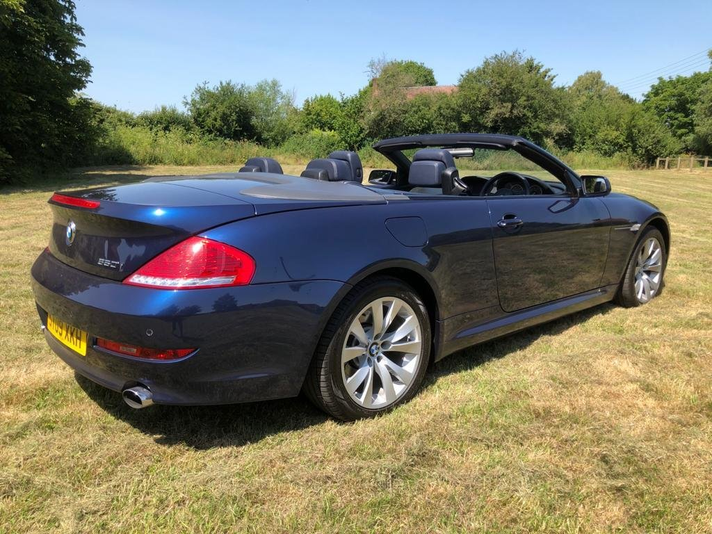 2009 BMW 650I MANUAL FULL SERV HISTORY 2 FORMER KEEPERS VGC For Sale (picture 2 of 6)