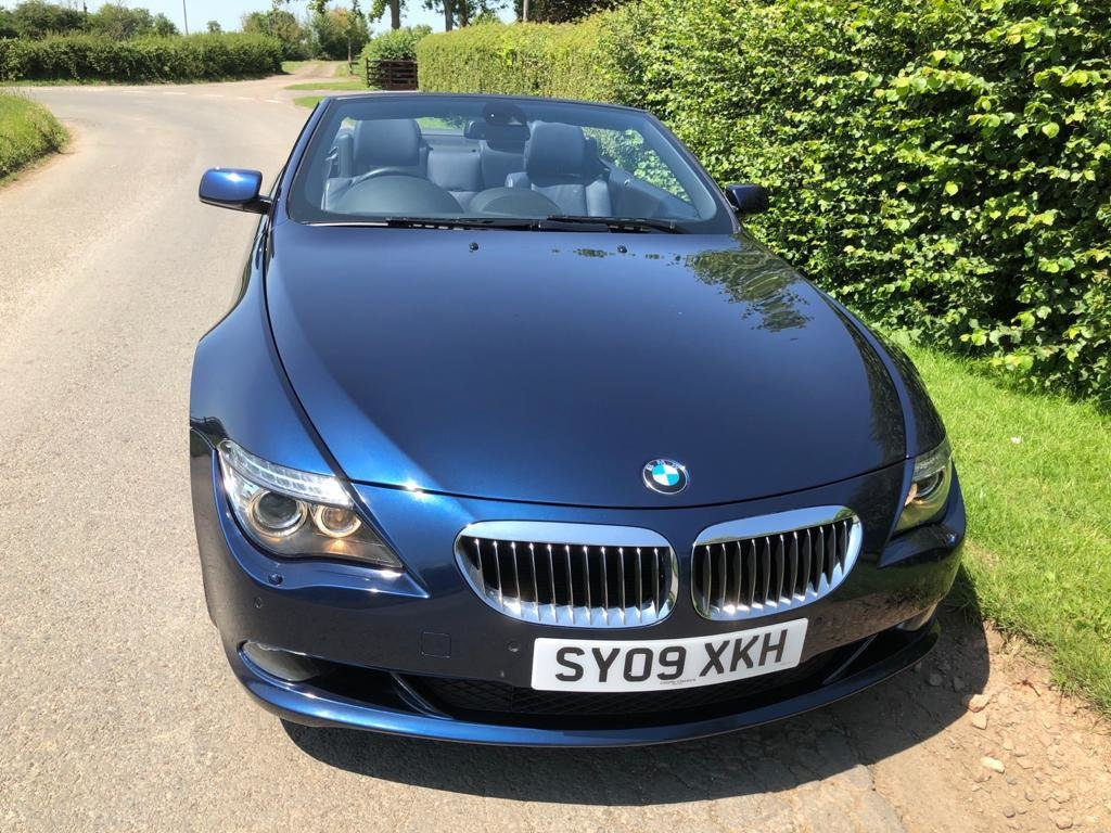 2009 BMW 650I MANUAL FULL SERV HISTORY 2 FORMER KEEPERS VGC For Sale (picture 3 of 6)