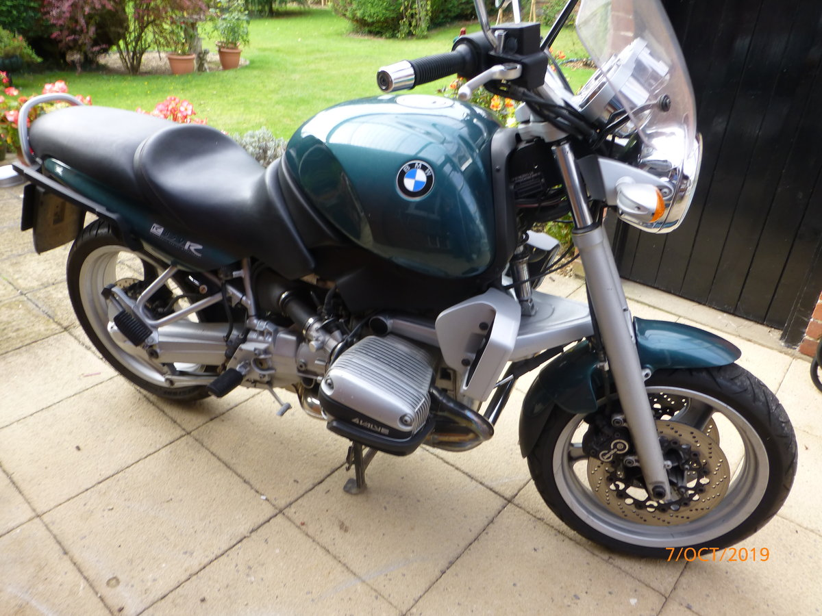 1998 Superb BMW R850R Ascot Green SOLD (picture 2 of 6)
