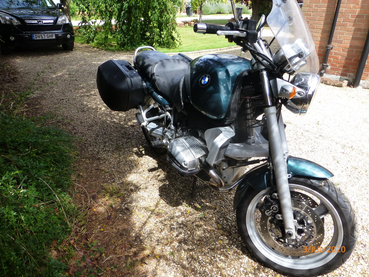 1998 Superb BMW R850R Ascot Green SOLD (picture 3 of 6)