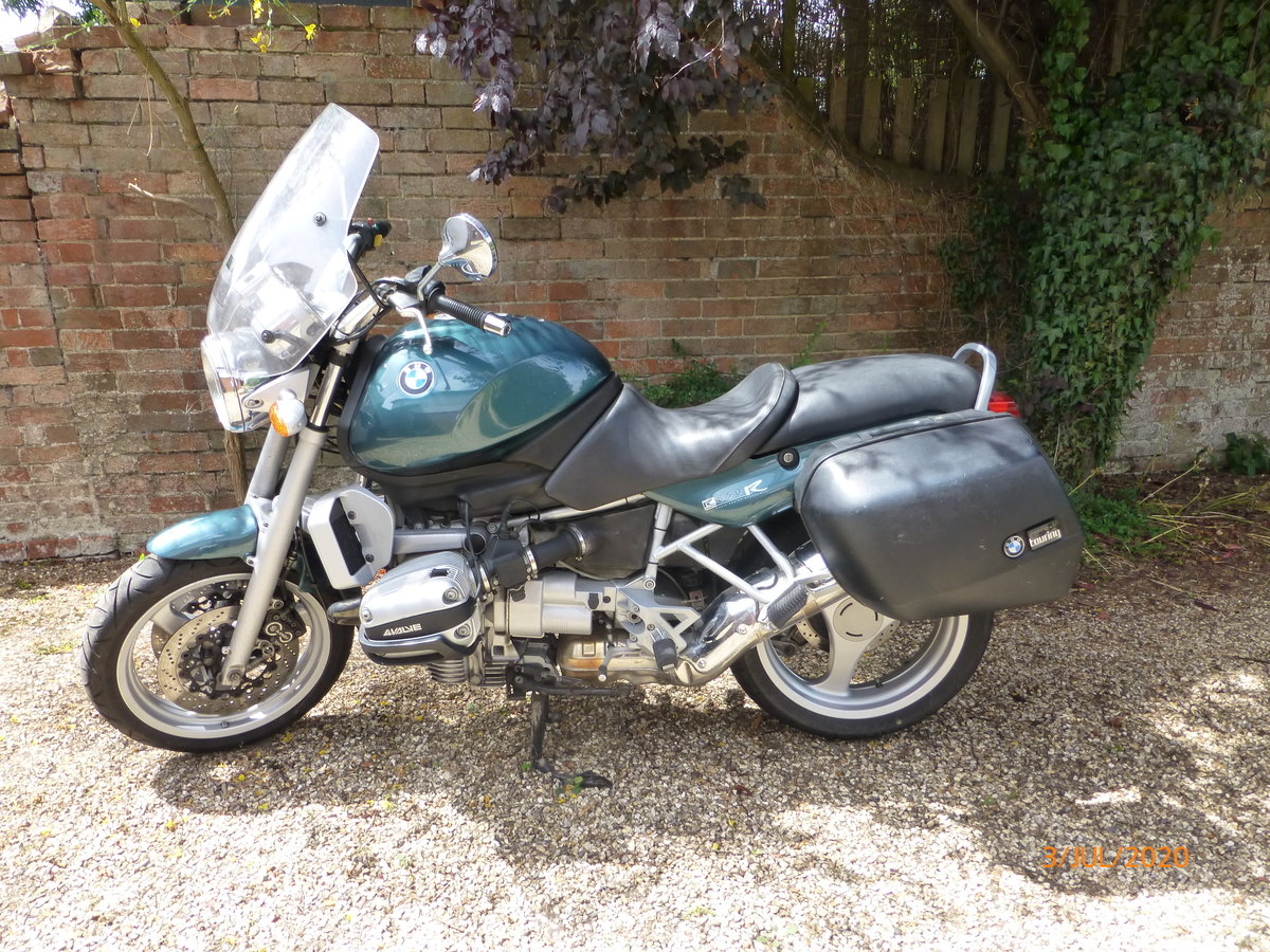 1998 Superb BMW R850R Ascot Green SOLD (picture 4 of 6)