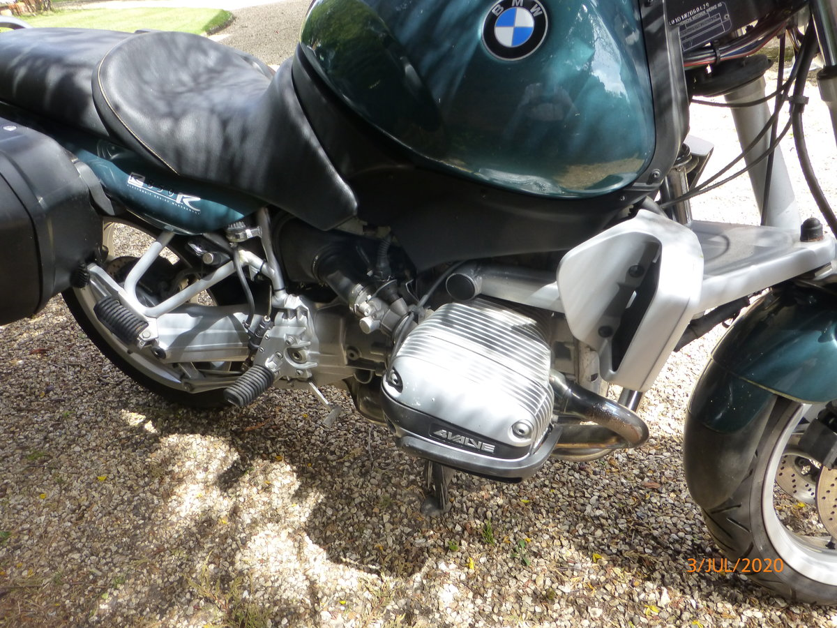 1998 Superb BMW R850R Ascot Green SOLD (picture 6 of 6)