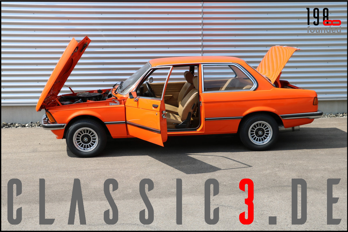 1978 BMW 320 /4 AUTOMATIC E21 WATCH PHOTOS & VIDEO! For Sale (picture 2 of 6)