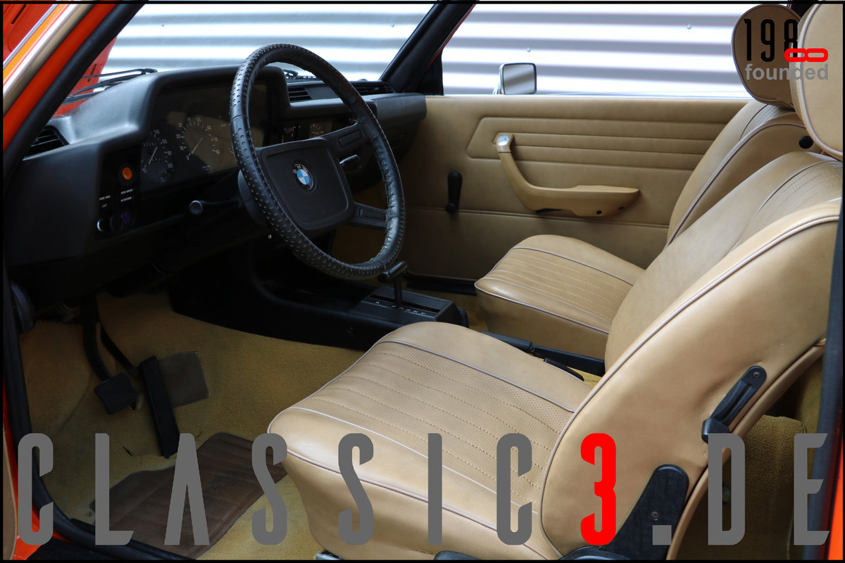 1978 BMW 320 /4 AUTOMATIC E21 WATCH PHOTOS & VIDEO! For Sale (picture 3 of 6)