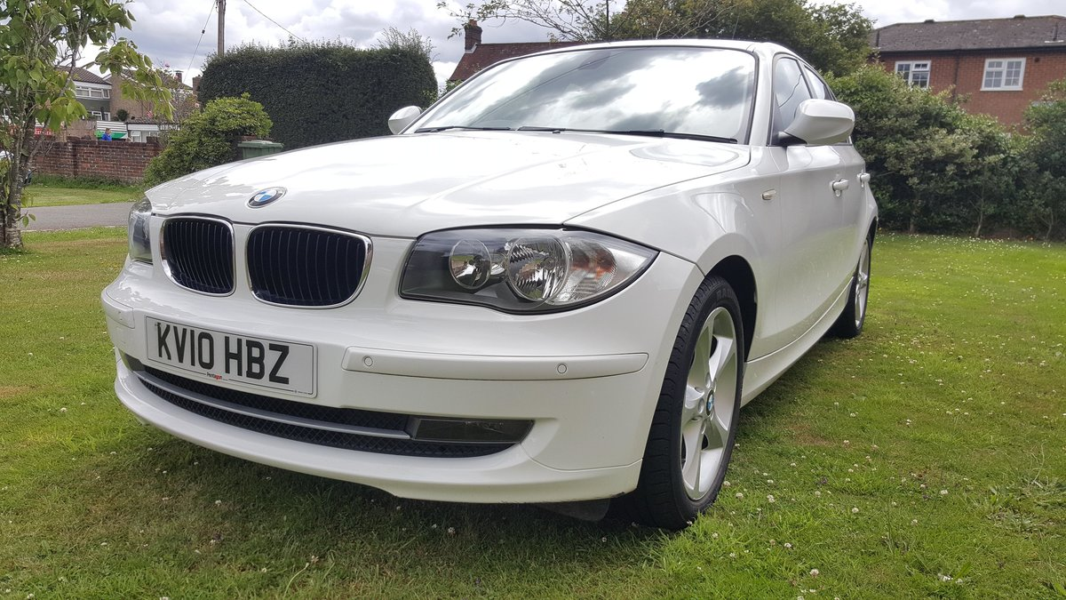 2010 B.M.W. 118D 2.0 SPORT, Low Mileage For Sale (picture 1 of 5)