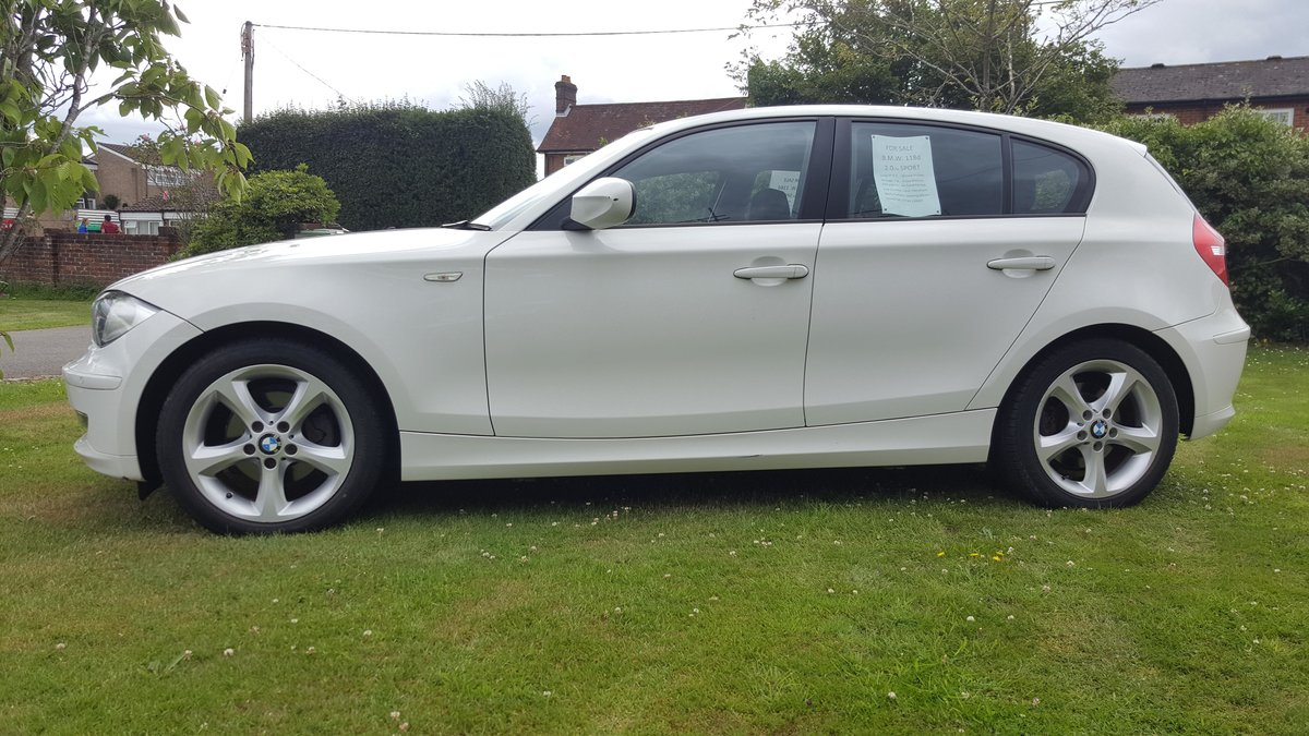 2010 B.M.W. 118D 2.0 SPORT, Low Mileage For Sale (picture 2 of 5)
