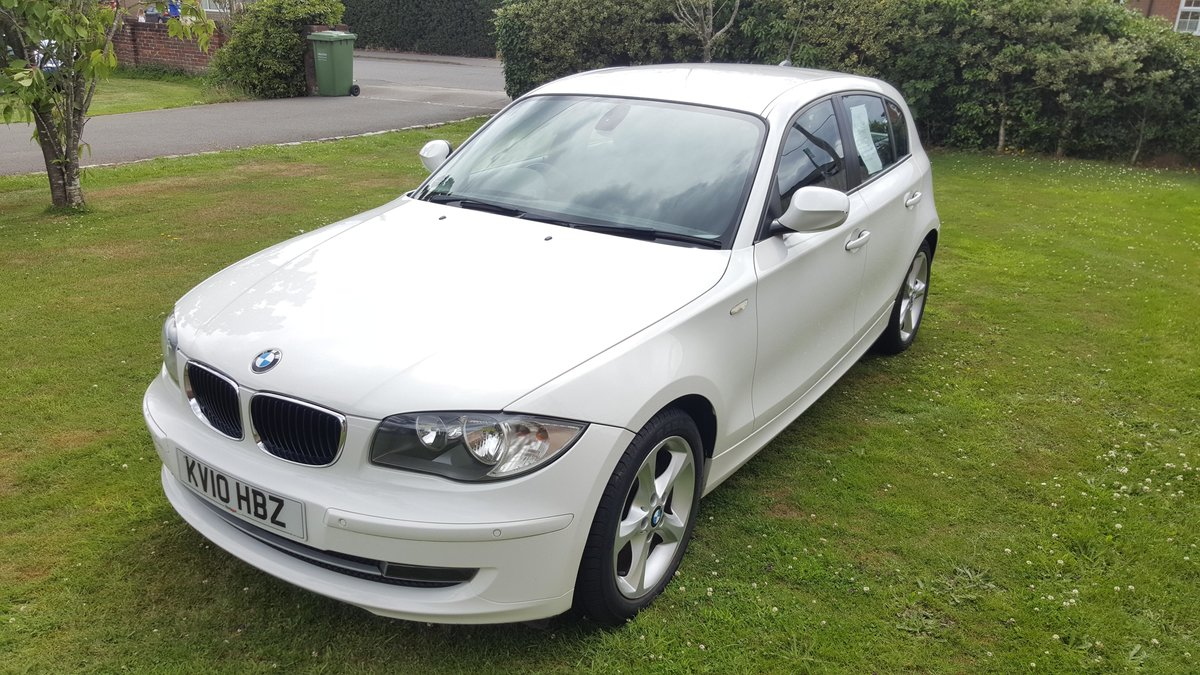 2010 B.M.W. 118D 2.0 SPORT, Low Mileage For Sale (picture 4 of 5)