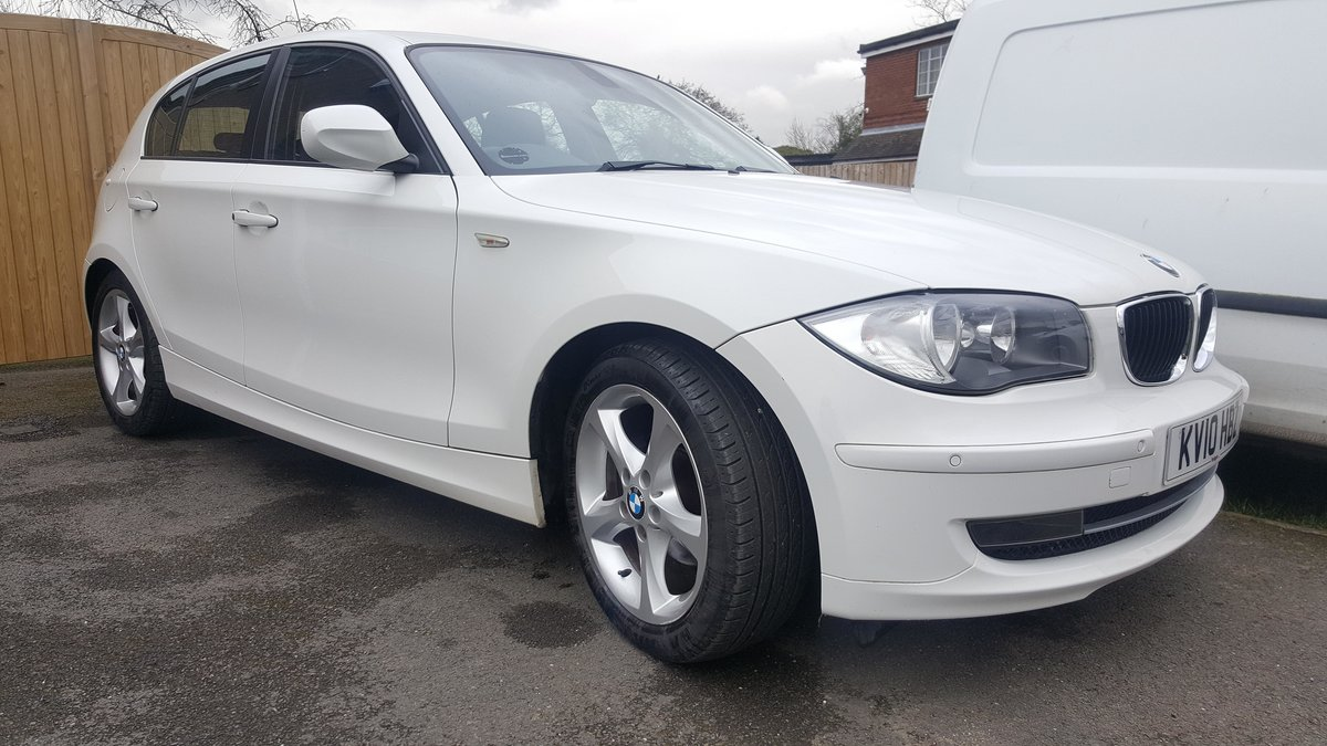 2010 B.M.W. 118D 2.0 SPORT, Low Mileage For Sale (picture 5 of 5)