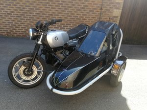 1988 Bmw R80rt and watsonian squire st3 sidecar