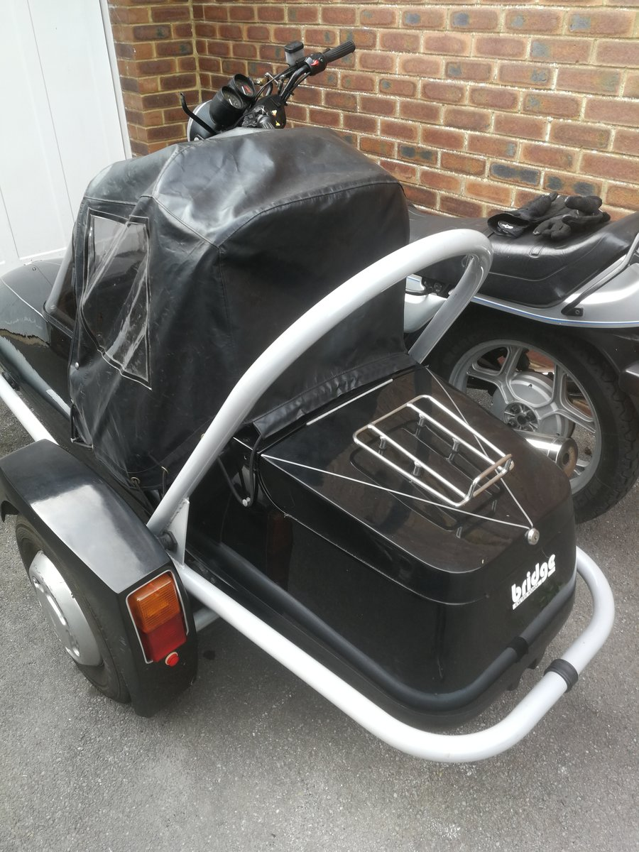 1988 Bmw R80rt and watsonian squire st3 sidecar  For Sale (picture 2 of 5)