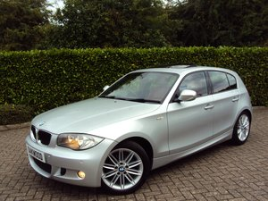 An EXCEPTIONAL Low Mileage BMW 116i M sport - Red Leather