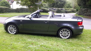 BMW 118D CONVERTIBLE EXCLUSIVE EDITION 2012 62000 MILES