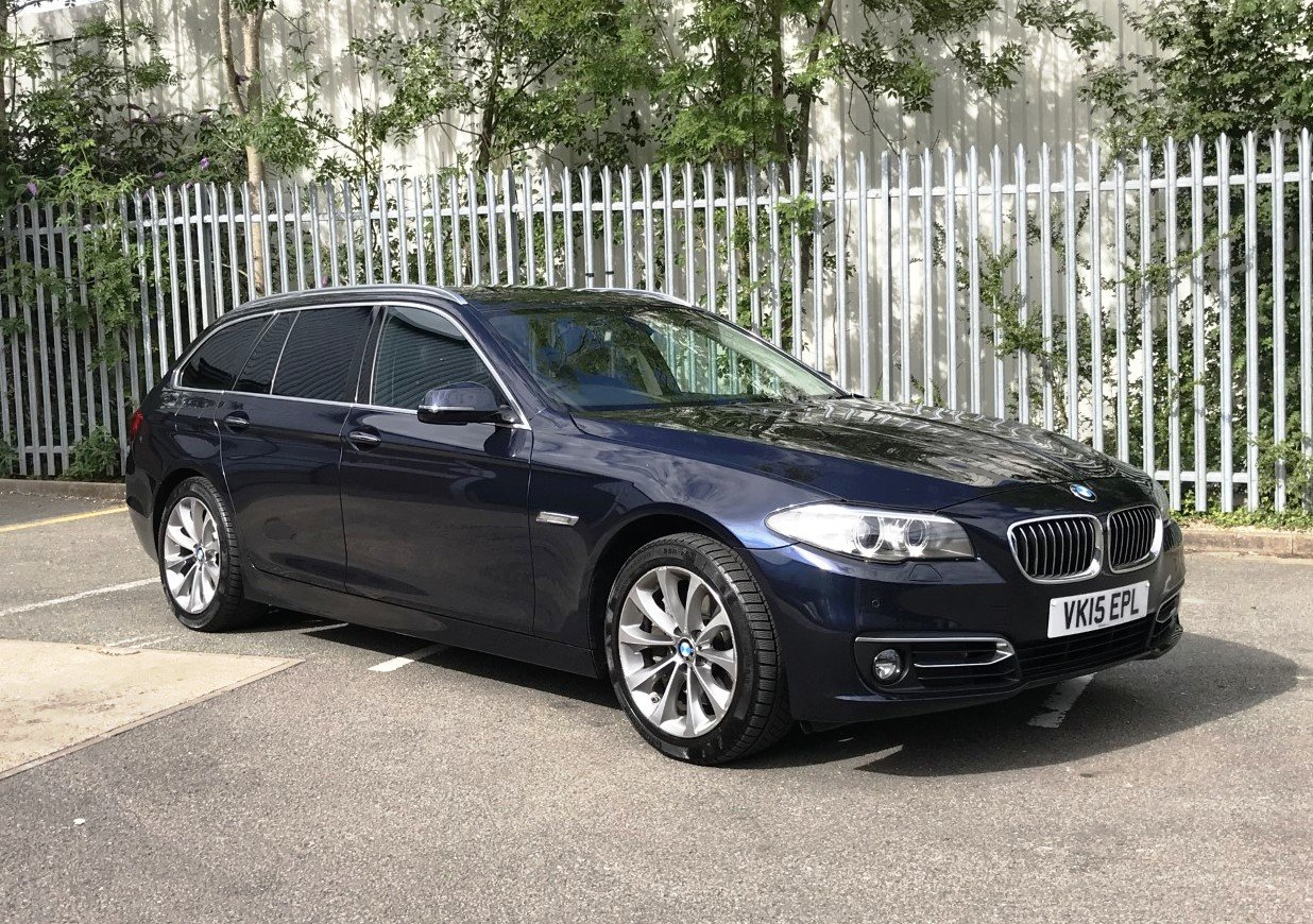 2015 BMW 528i Luxury Touring 5dr Auto FSH+PRO/NAV For Sale (picture 1 of 6)