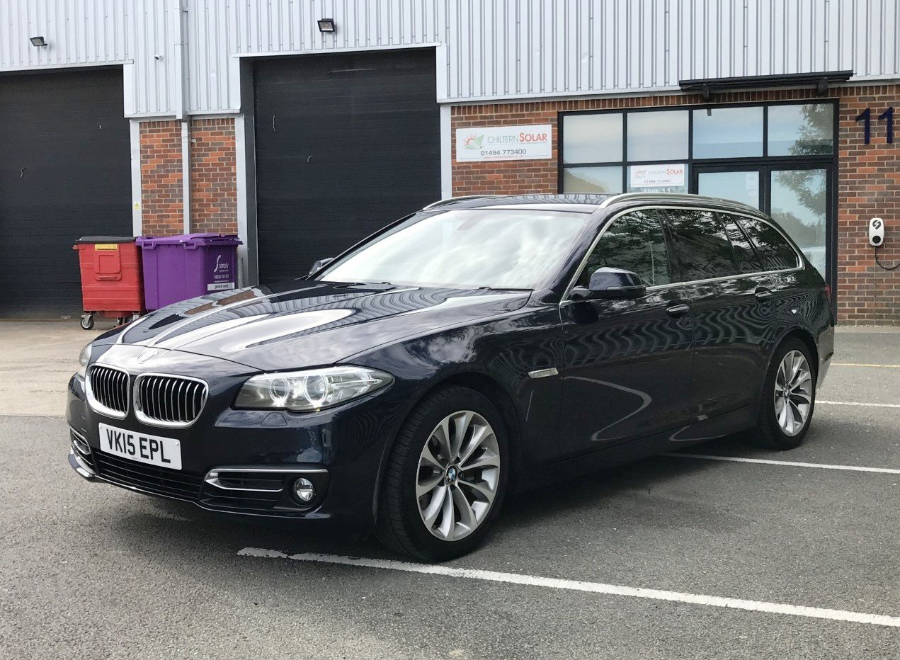 2015 BMW 528i Luxury Touring 5dr Auto FSH+PRO/NAV For Sale (picture 3 of 6)