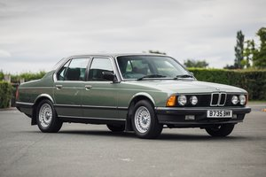 1985 BMW 735i SE E23 - Just 18,000 miles only
