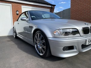 Bmw E46 m3 manual low 52k miles
