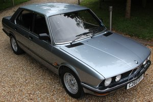 1985 BMW 528iSE Auto 43,000 Miles, Owned by a Sir