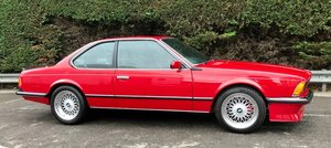 1985 M6 M635 CSI Manual UK CAR LOW MILES