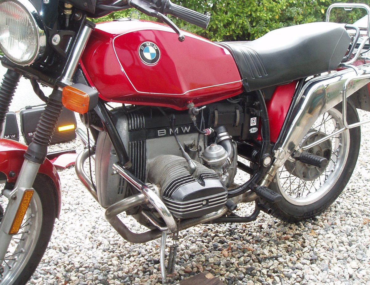 1983 BMW R80ST in great condition SOLD (picture 4 of 6)