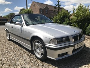 1999 BMW M3 EVOLUTION E36 3.2 Convertible, 6 speed