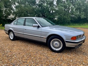 1997 CLASSIC BMW 7 SERIES 740i E38 LOW MILEAGE EXAMPLE