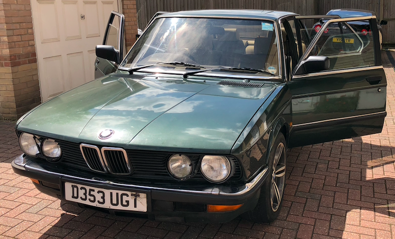 1986 BMW 5- E28 535i Automatic Saloon - SORN-Project. For Sale (picture 1 of 6)
