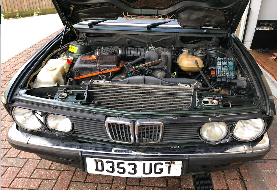1986 BMW 5- E28 535i Automatic Saloon - SORN-Project. For Sale (picture 4 of 6)