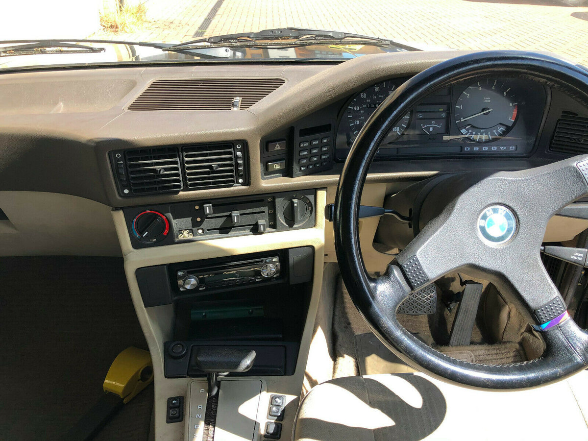 1986 BMW 5- E28 535i Automatic Saloon - SORN-Project. For Sale (picture 5 of 6)