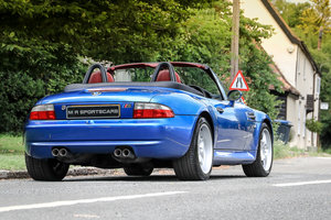 1998 BMW Z3M Roadster Estoril Blue - 1 of 7 Worldwide