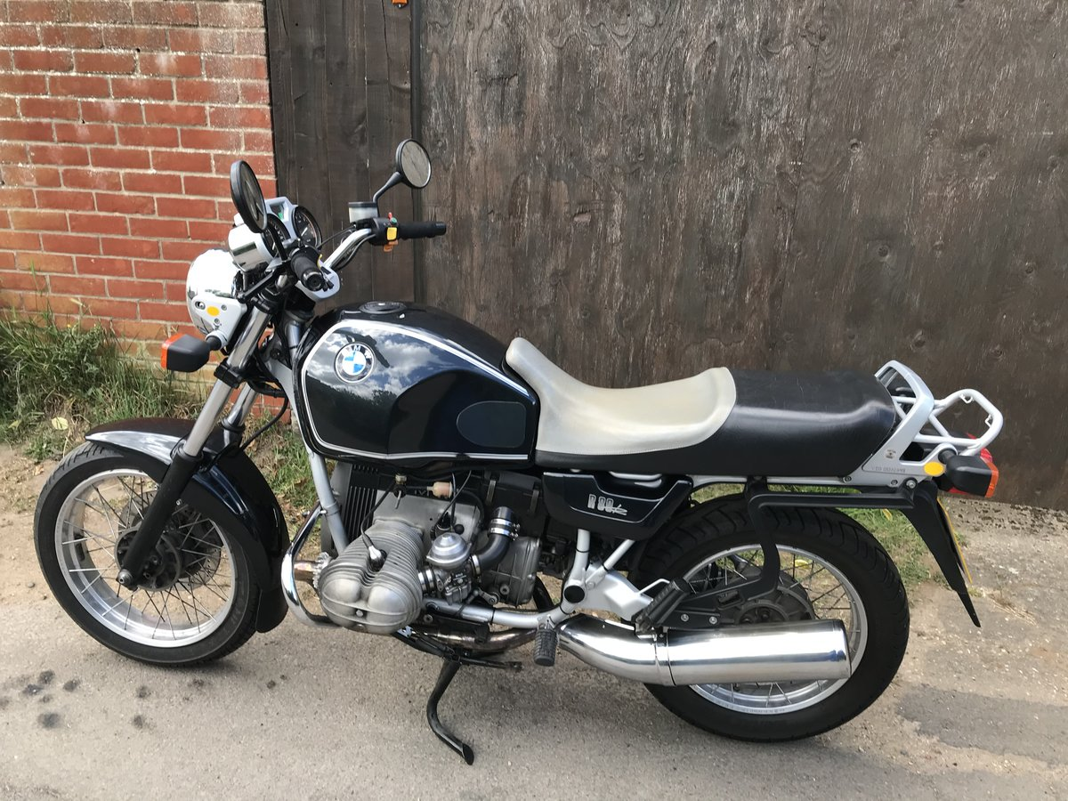 1994 BMW R80R very low miles, one of the last produced For Sale (picture 1 of 6)