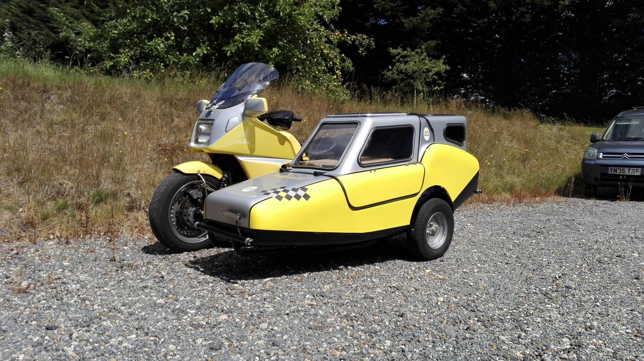 1997 BMW K1100LT Martello Sidecar Outfit For Sale (picture 1 of 6)