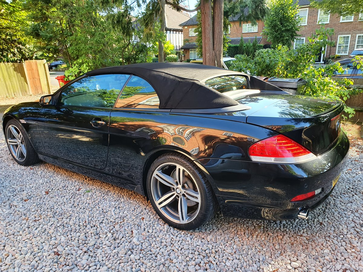 2005 The Finest BMW 645CI Cabriolet For Sale For Under £7000 SOLD (picture 2 of 6)