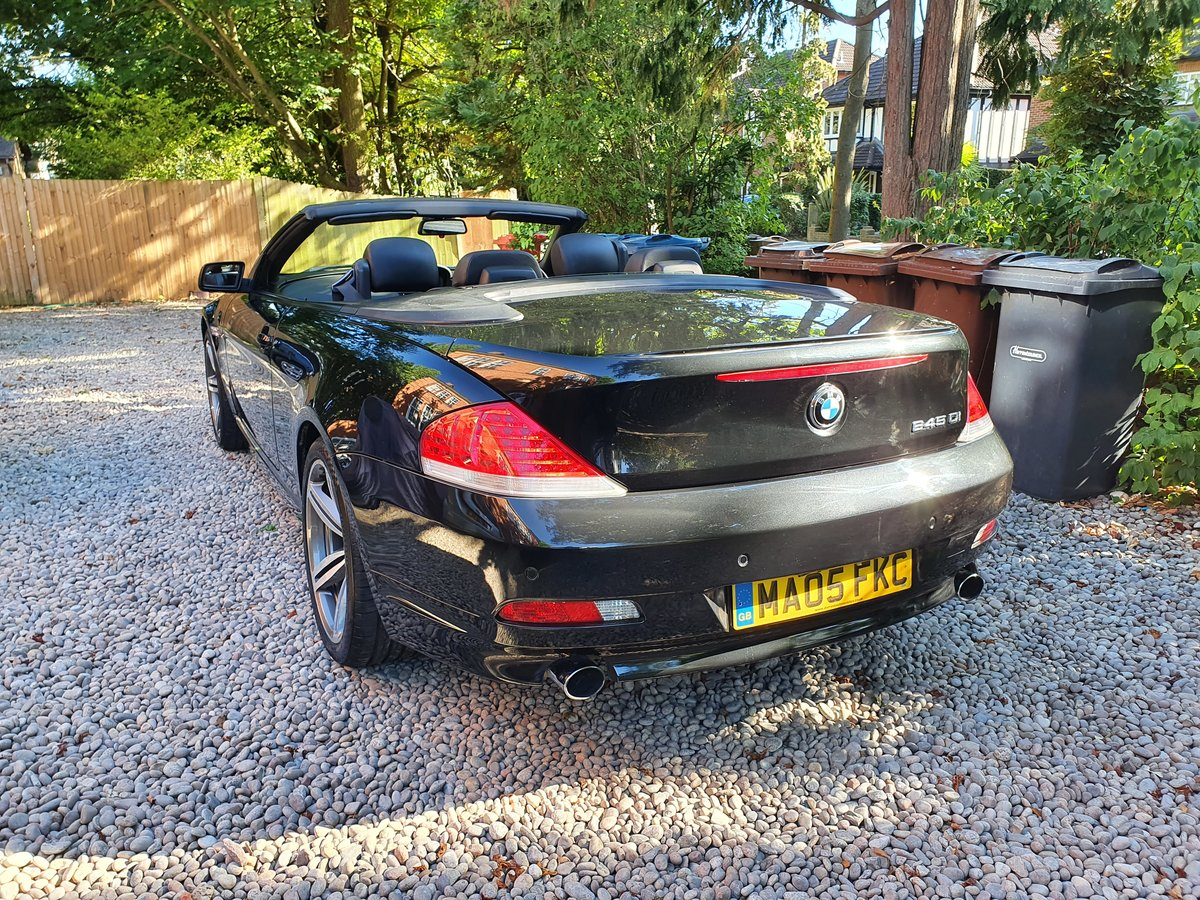 2005 The Finest BMW 645CI Cabriolet For Sale For Under £7000 SOLD (picture 3 of 6)