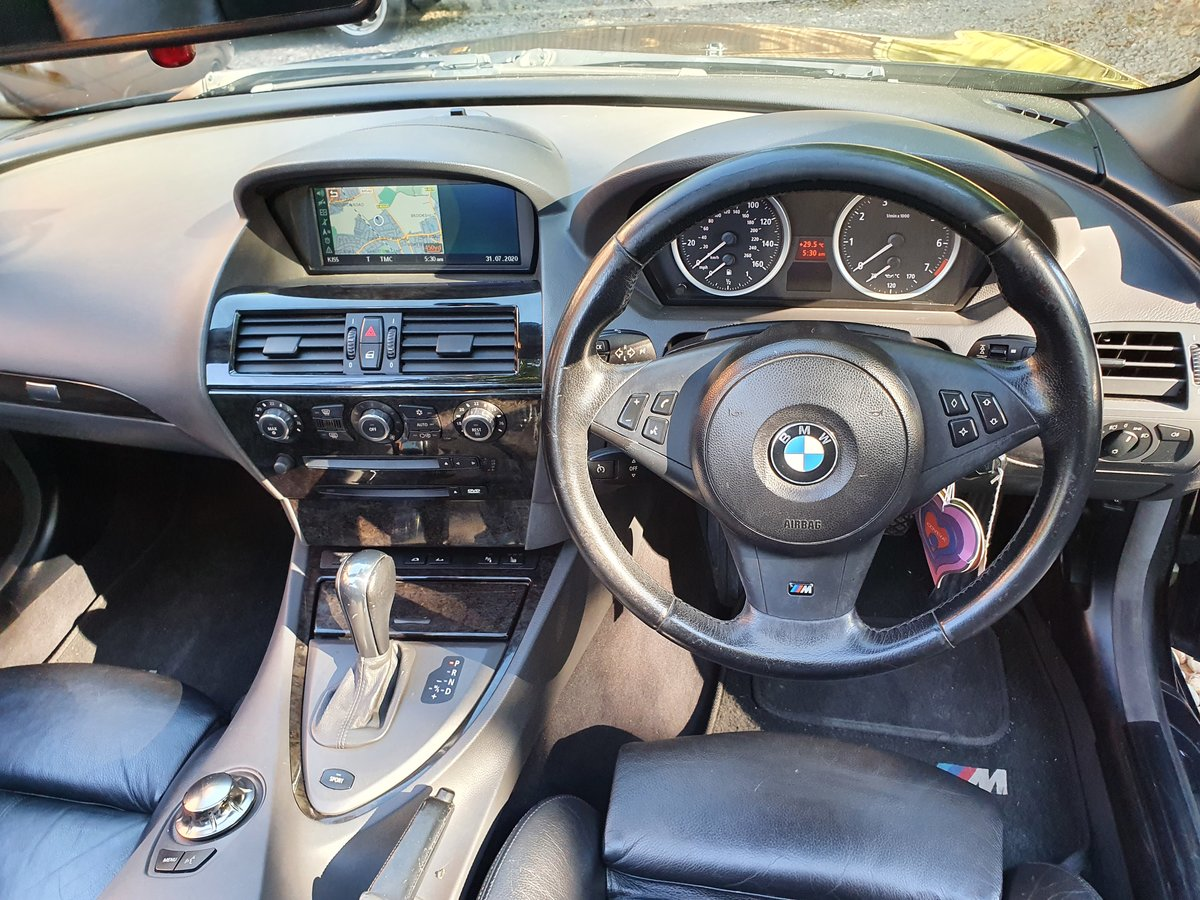2005 The Finest BMW 645CI Cabriolet For Sale For Under £7000 SOLD (picture 4 of 6)