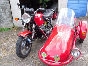 BMW R75 with Hedingham Sidecar