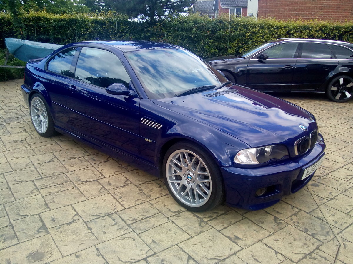 2005 BMW M3 CS (E46) Coupe - Beautiful example For Sale ...