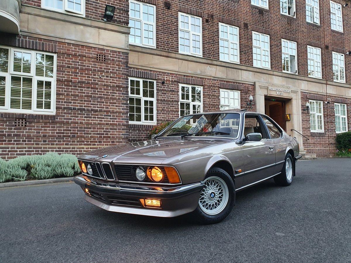 1987 BMW 635CSI LUXOR BEIGE For Sale (picture 1 of 5)