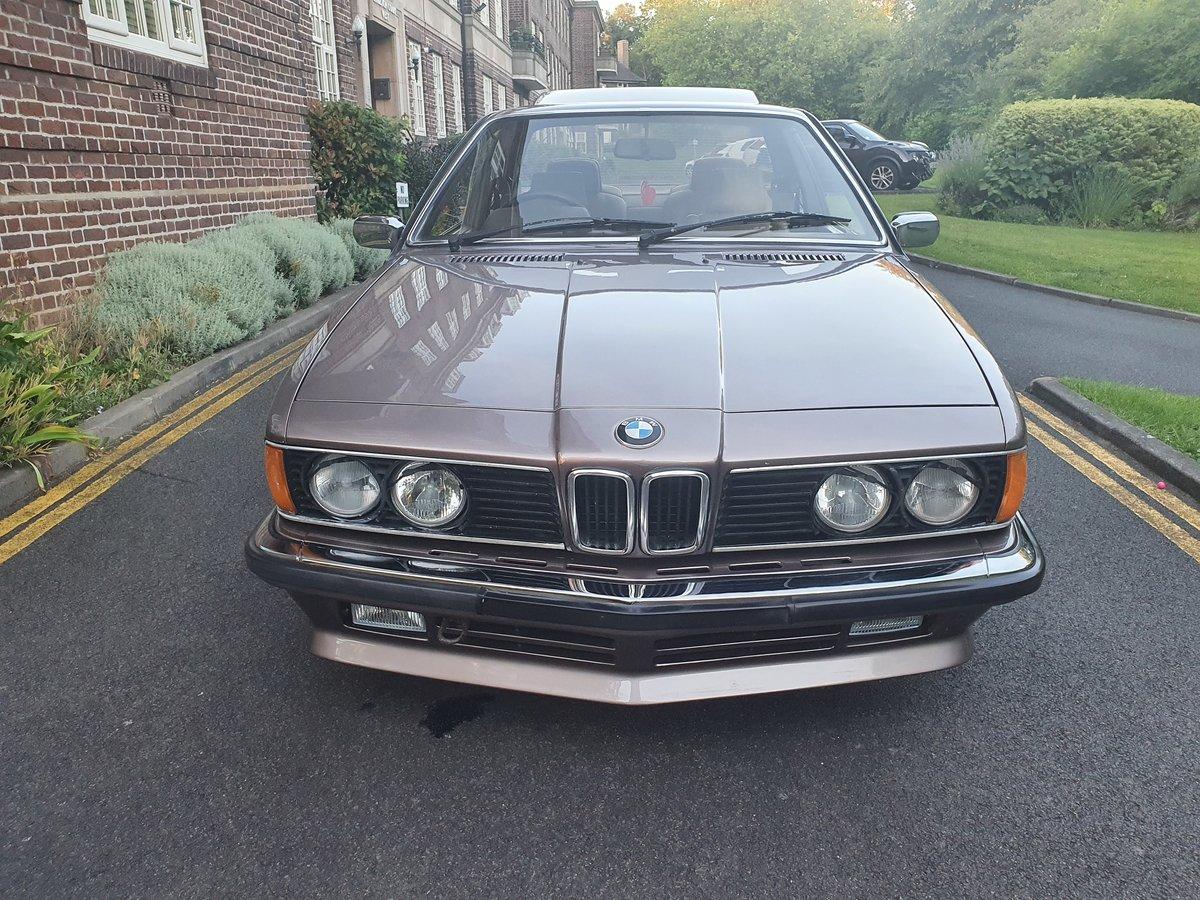 1987 BMW 635CSI LUXOR BEIGE For Sale (picture 3 of 5)