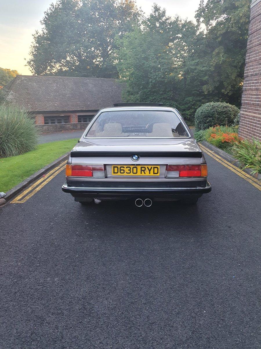 1987 BMW 635CSI LUXOR BEIGE For Sale (picture 4 of 5)